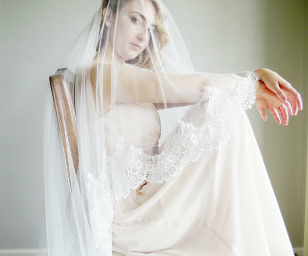 wedding veils-long cathedral lengths