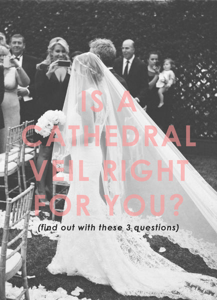 cathedral veil outdoor wedding is right for you