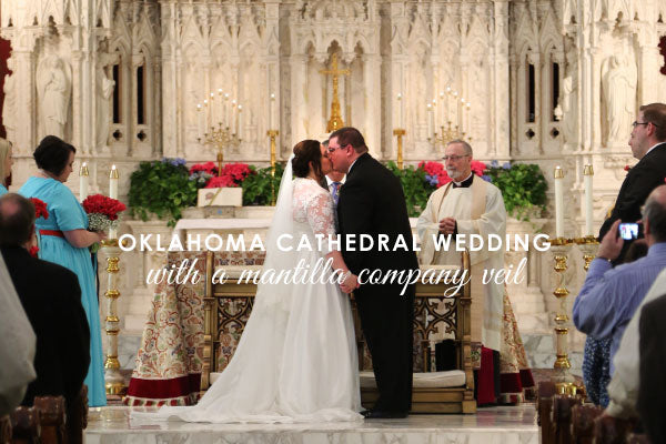 cathedral wedding in catholic church