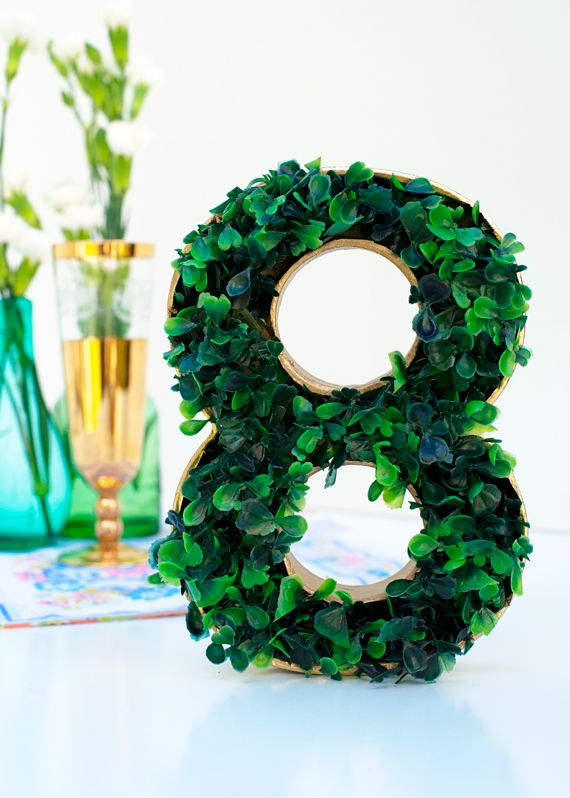 boxwood table number