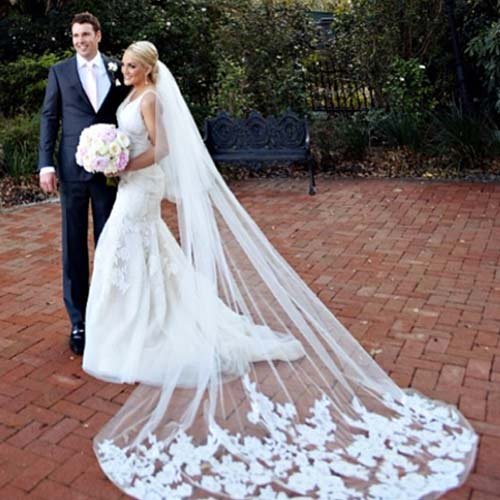 celebrity-weddings-mantilla