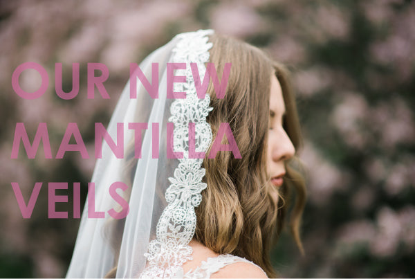 Affordable Mantilla Bridal Veils