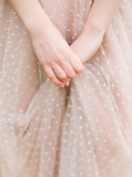 blush-polka-dot-wedding-dress