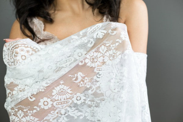 ceremony mantilla for bride and groom