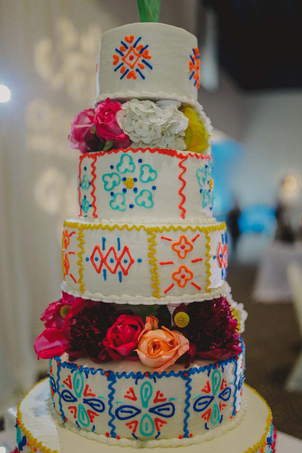 mexican style wedding cakes