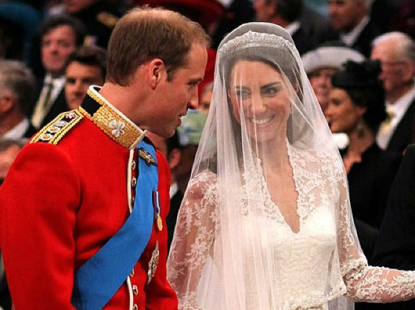 What is a drop veil Royal Wedding
