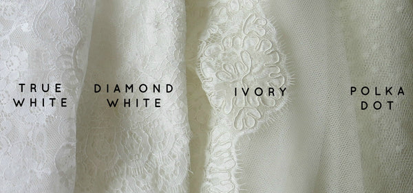 wedding dress shopping dress and veil colors