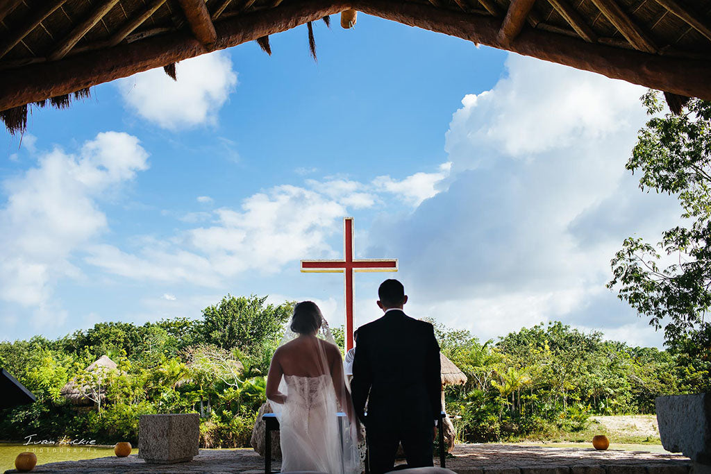catholic wedding in cancun mexico destination wedding