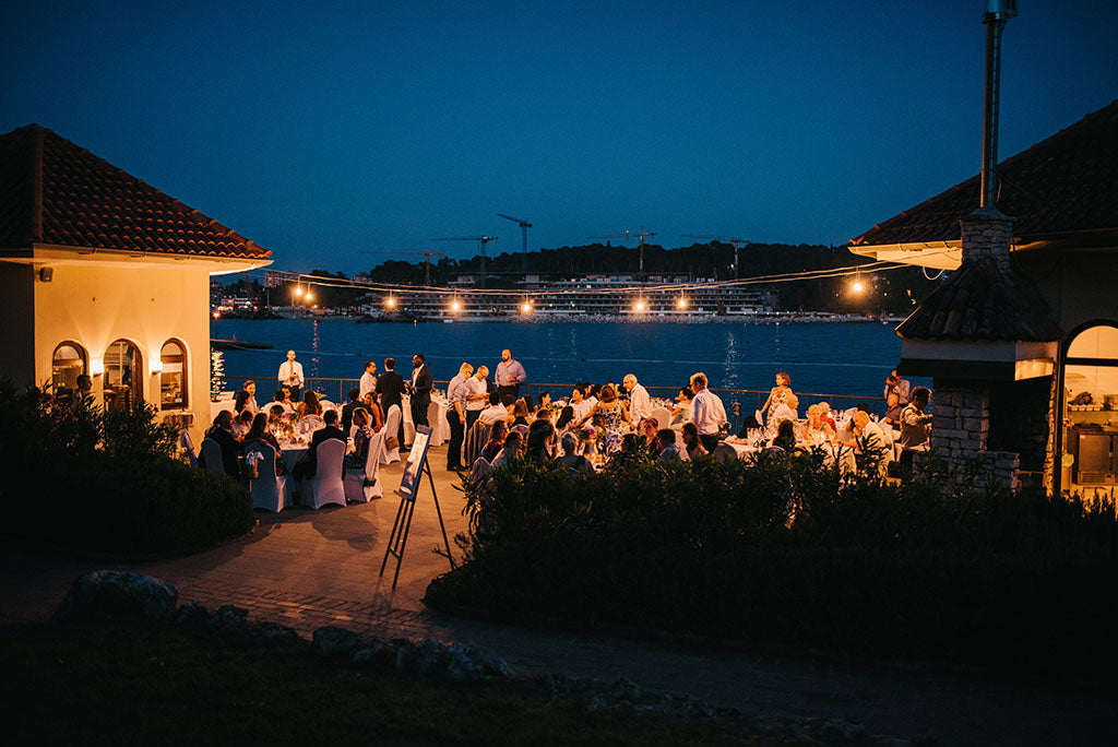 wedding reception in croatia