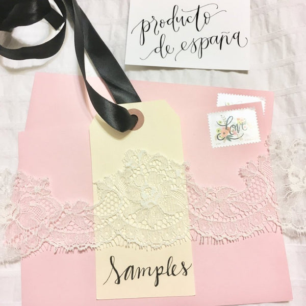 Camila Lace Sample