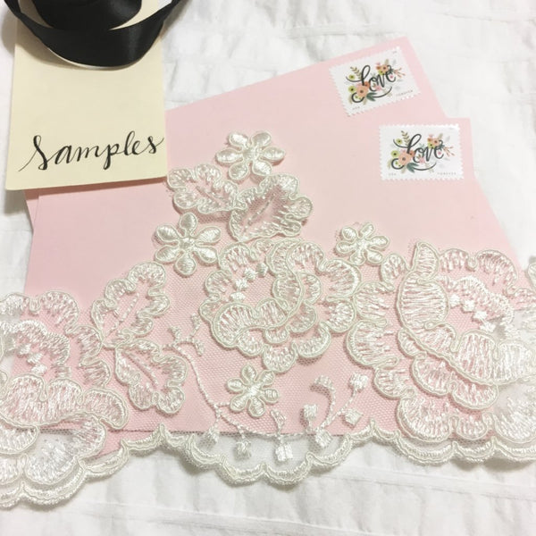 Maya Lace Sample