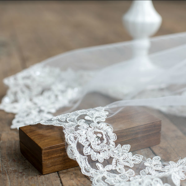 Christina Lace Cathedral Veil
