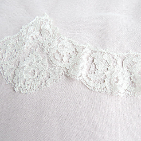 spanish lace fingertip length mantilla wedding veil