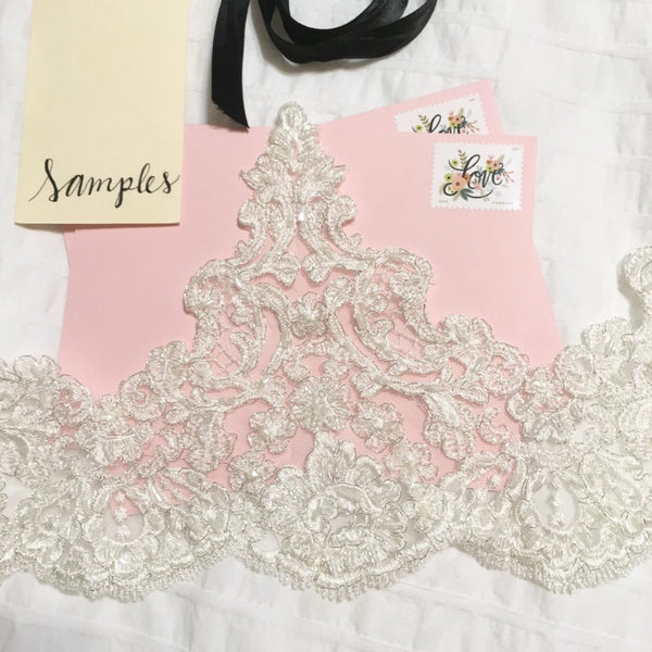 Josefina Lace Sample