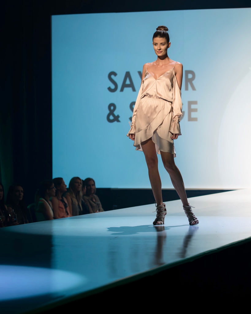 Brisbane Fashion Weekend Runway Saylor & Saige Sabo Luxe Michelle Alan Model