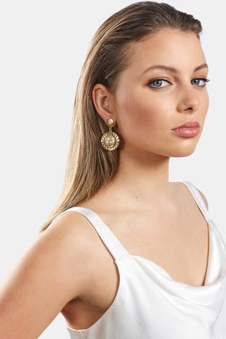 Coco Earrings | Gold