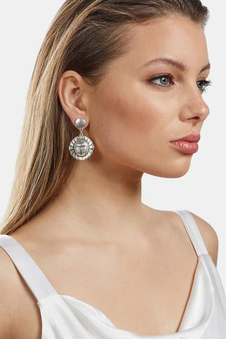 Coco Earrings | Silver
