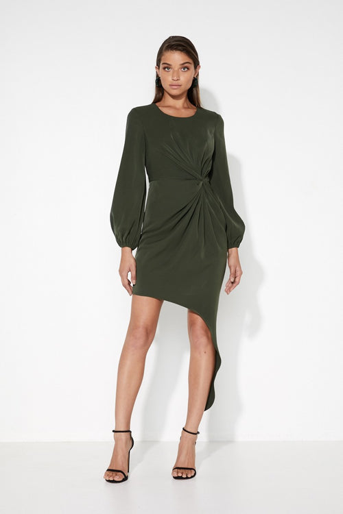 Something About You Dress | Khaki