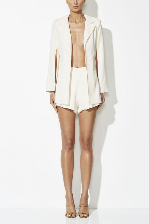 Venus Split Jacket | Cream