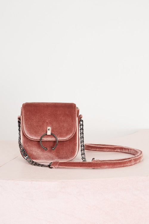 Chained Bag | Blush