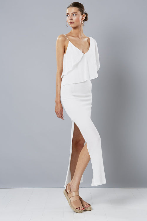 Alfresco Maxi Dress | White