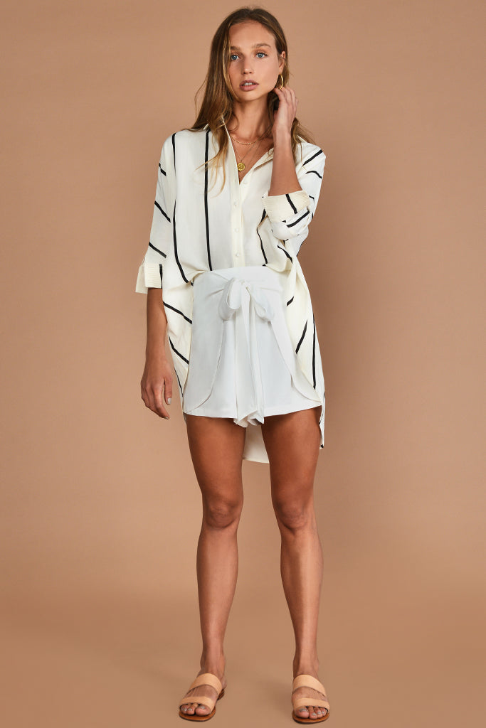 The Helene Wrap Short