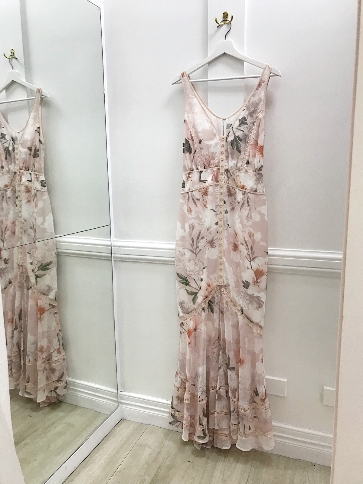 Magnolia Blouson Maxi Dress | Blush Tigerlily