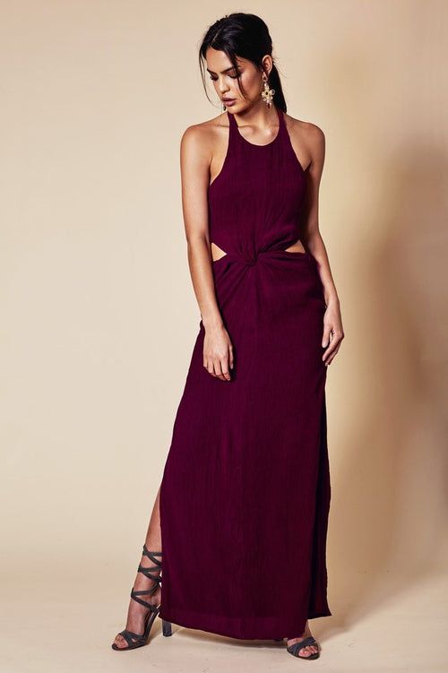 Louise Maxi Dress Berry