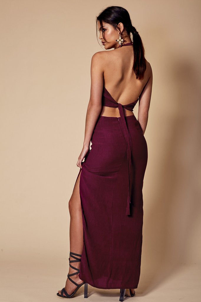 Louise Maxi Dress | Berry