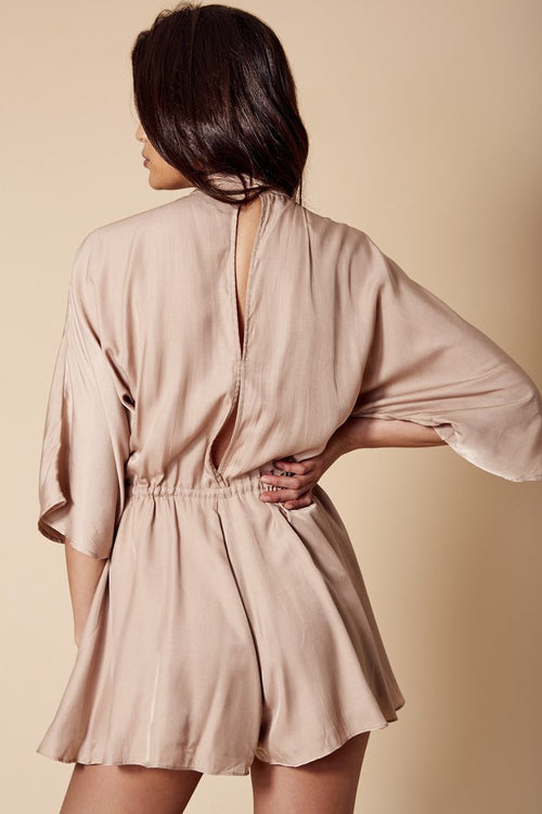 Adele Playsuit | Latte