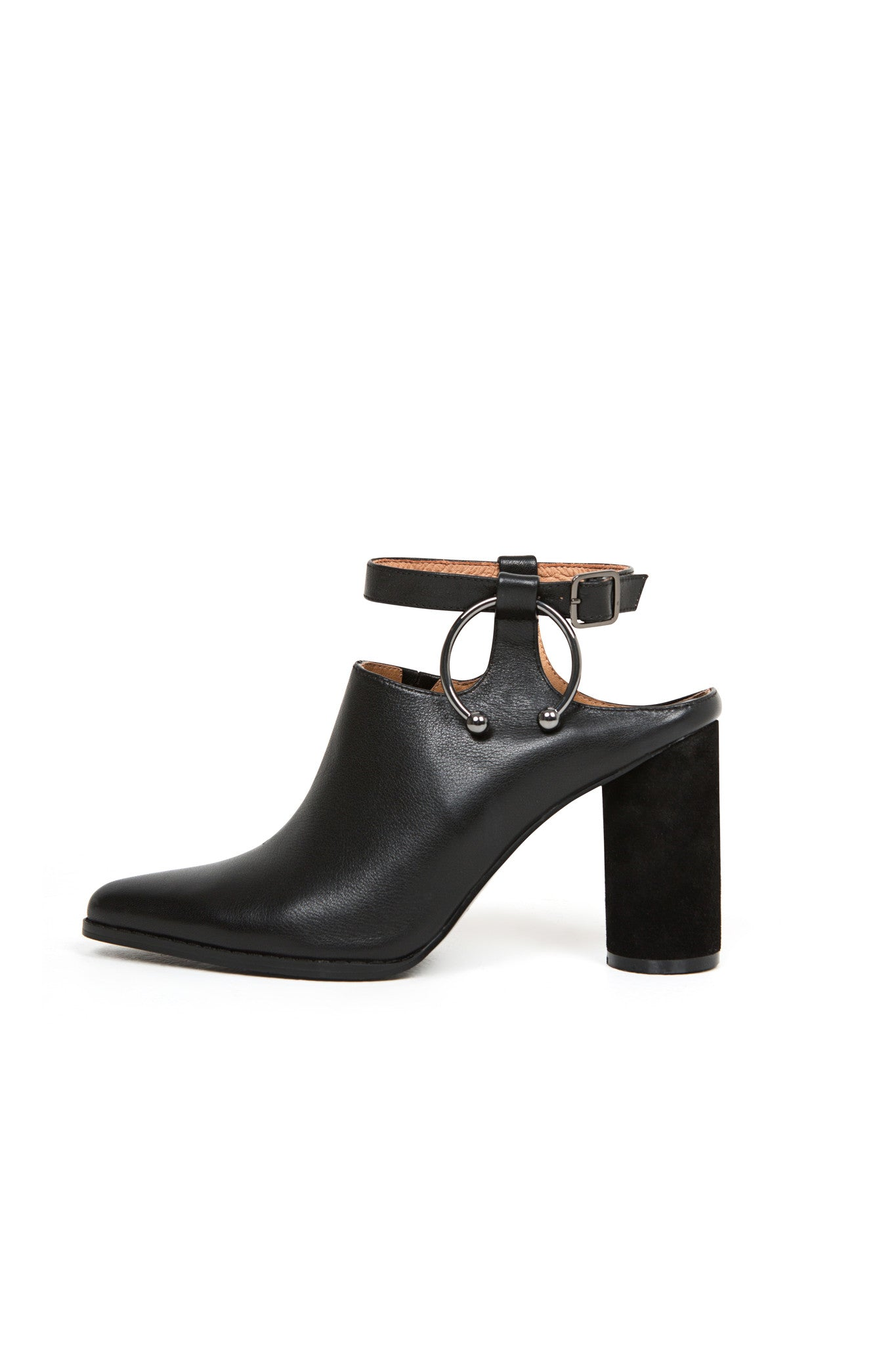Diverge Block Heel | Black