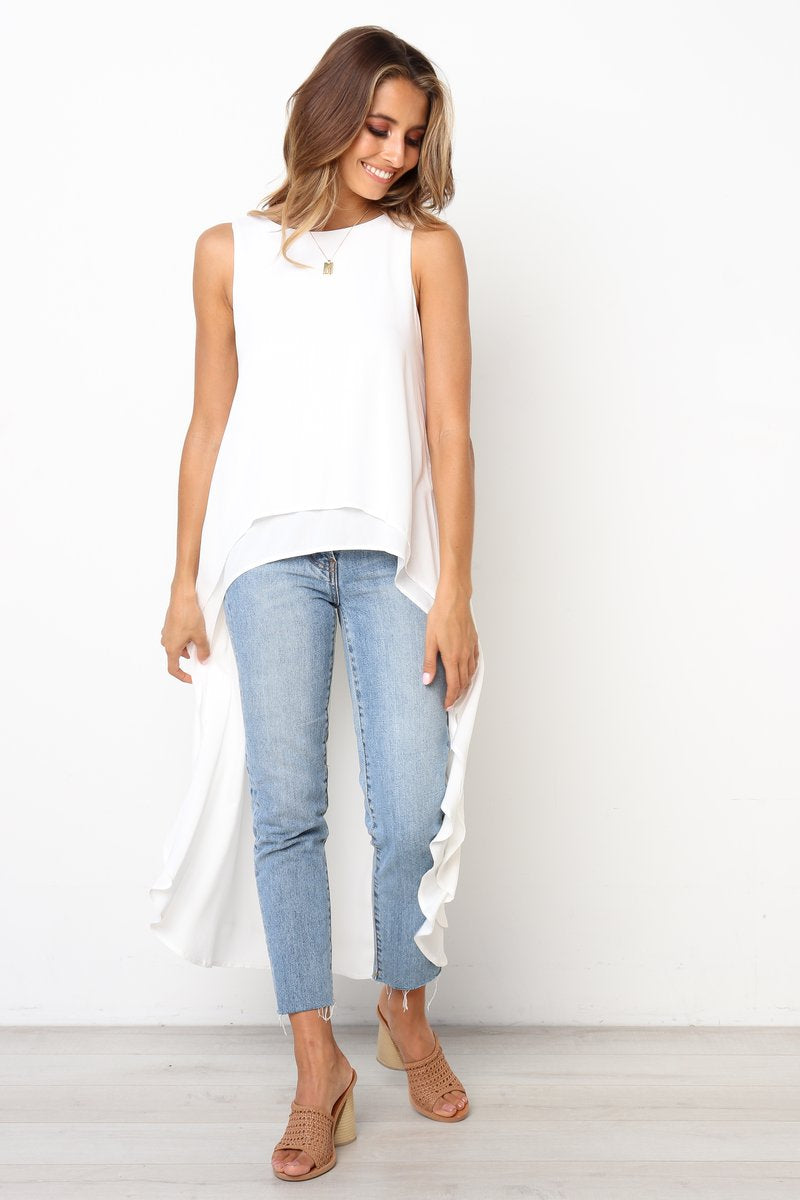 Taylor Top | White