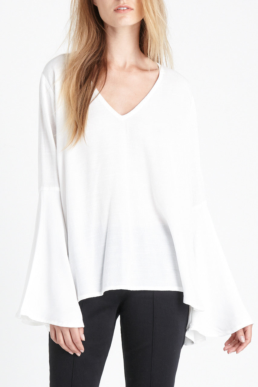 Magali Top | White