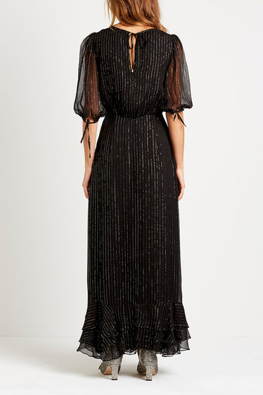 Elle Long Dress | Black