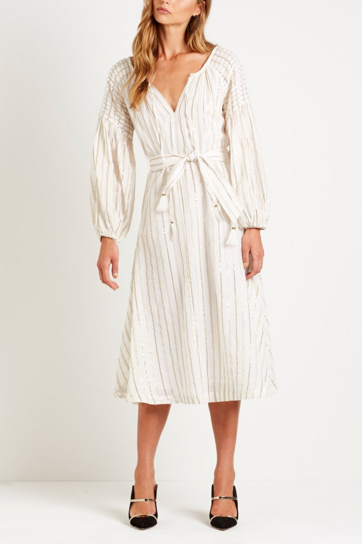 Markle Midi Smock Dress Steele