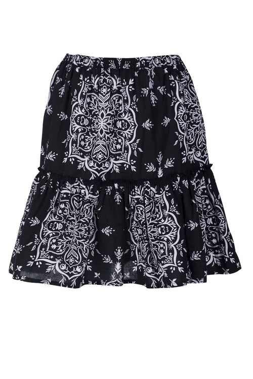 Stella Skirt | Black Sanchee