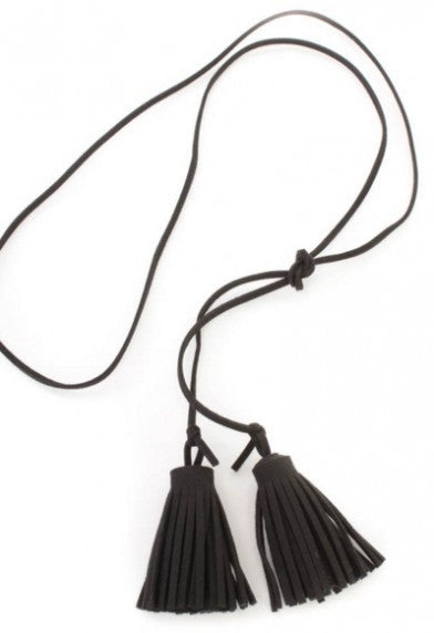 Lola Neck Wrap Tassels