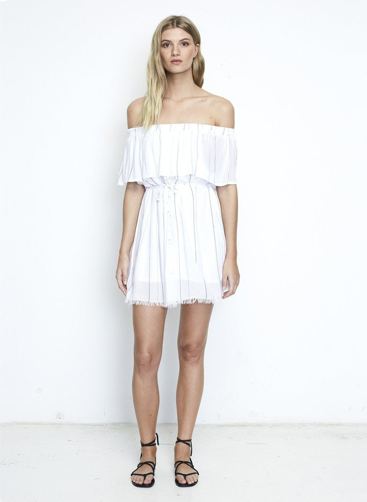 Alma Dress | Lopez Stripe