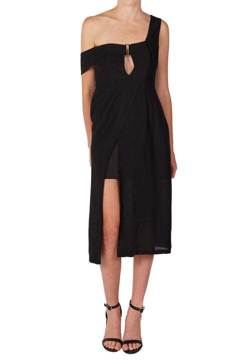 Bracket Dress | BLACK