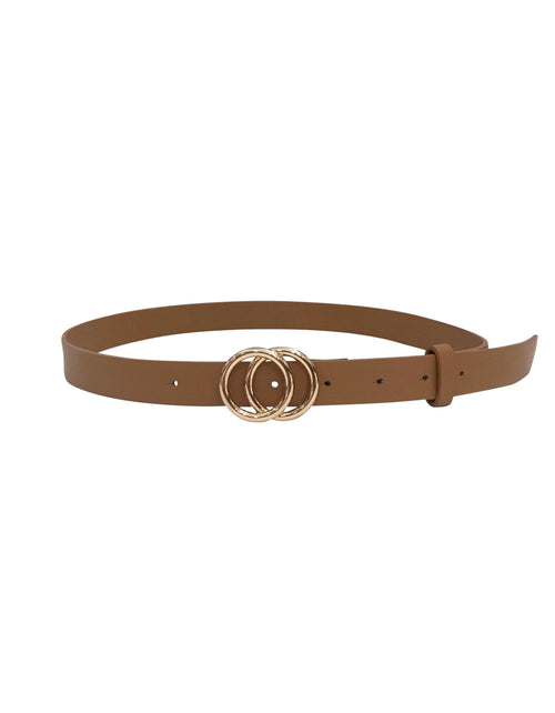 Double Circle Belt | Tan