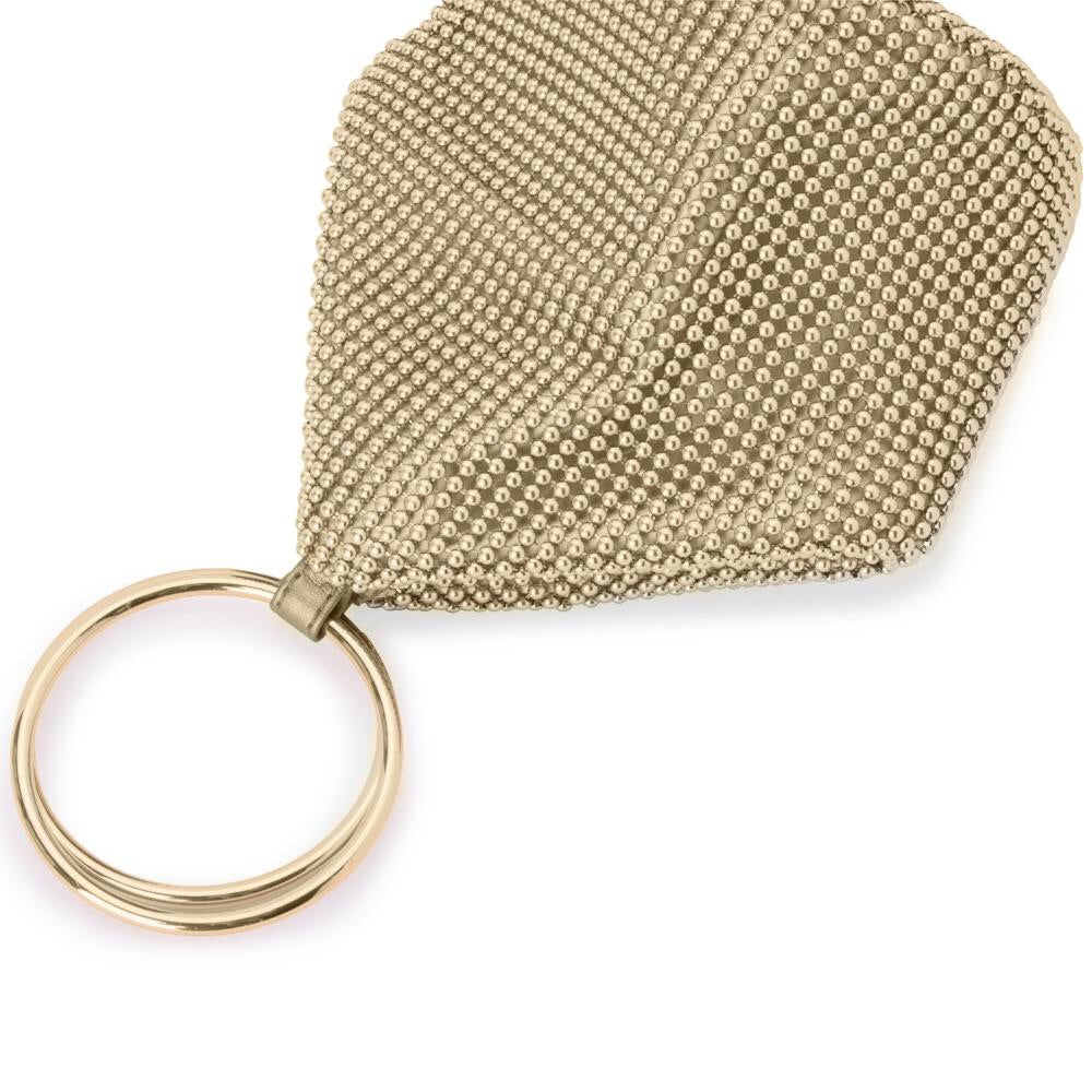 Bianca Ball Mesh Bag | Gold