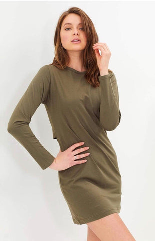 Ryder Tee Dress | Marle Grey