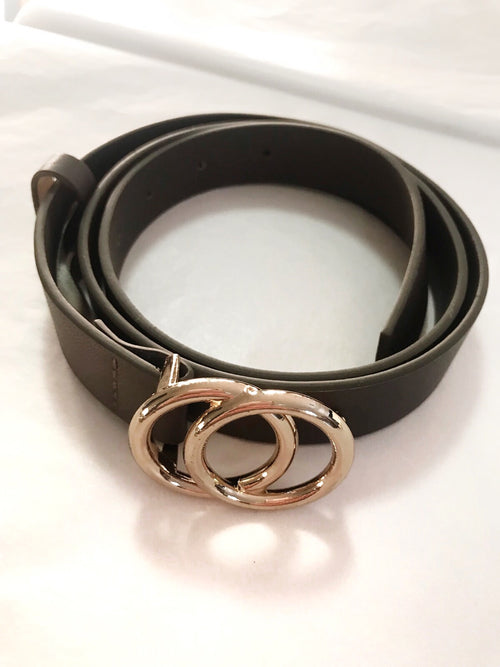 Double Circle Belt | Khaki