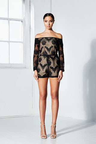 Mystery Playsuit | Black