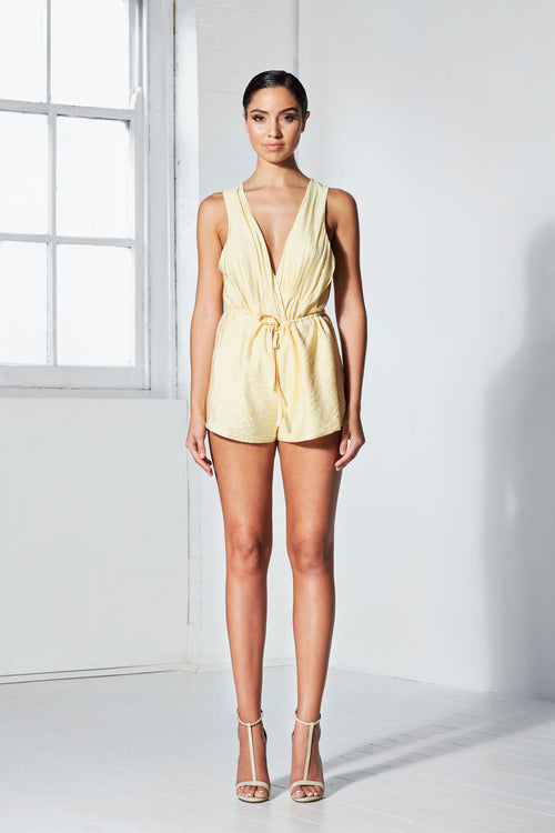 Sunrise Playsuit | Yellow