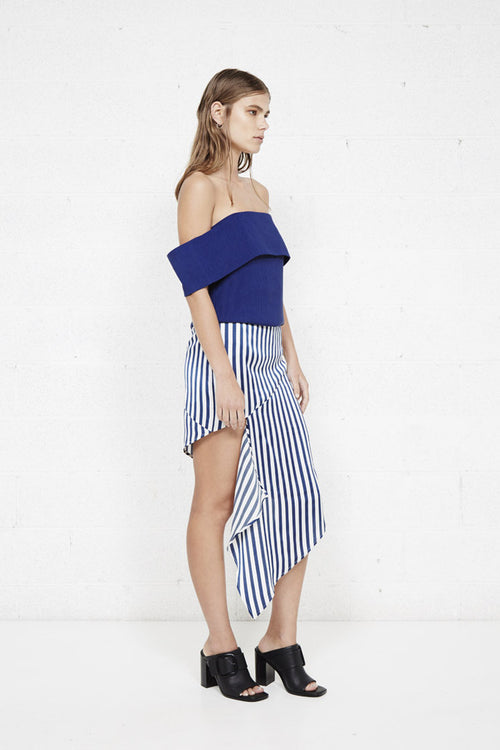 Fall Through Skirt | Stripe