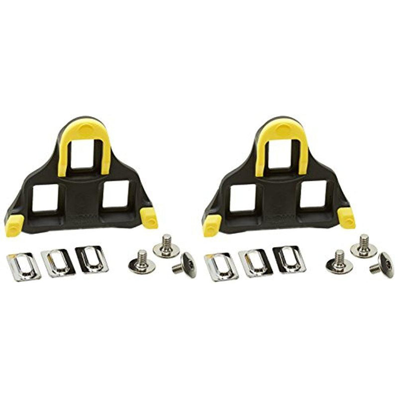 c29c8f6c1fcf Shimano SM-SH11 Road Bicycle Clipless Pedal Cleat Yellow 6 Degree Float-Sporting  Goods