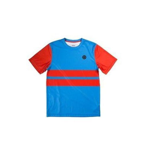 Sombrio Men's Slice & Dice Mountain Bike Jersey Blue Orange Size Small New-Misc-The Gear Attic