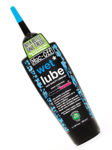 Muc-Off Bicycle Bio Wet-Lube 120ml Race Quality Chain Lubricant New
