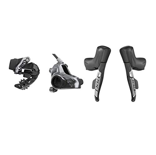 SRAM Red eTap AXS 1x Flat Mount HRD Disc Brake Electronic Road/Gravel Groupset